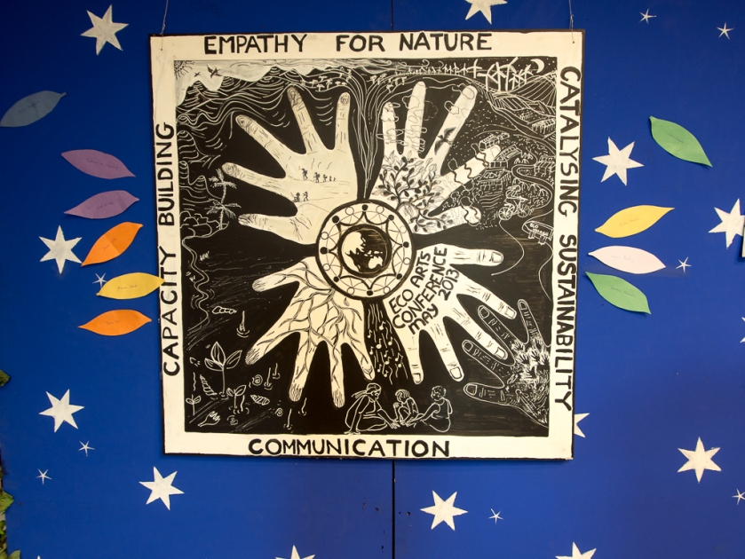 EcoArts conference banner